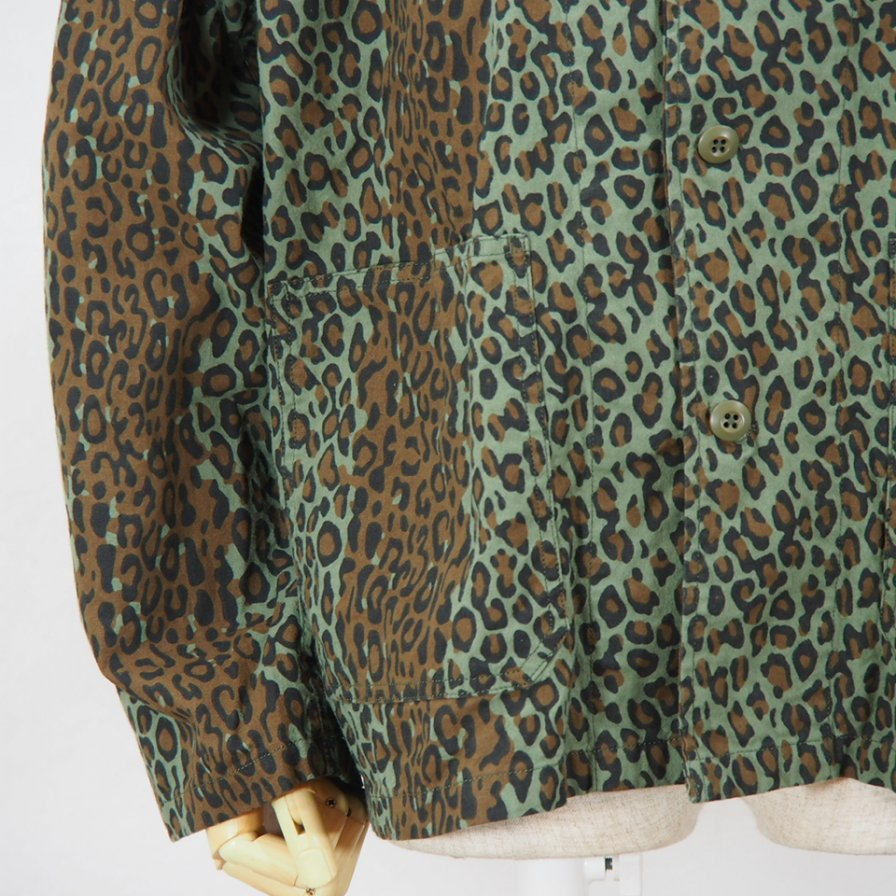 South2 West8V Neck ShirtPrinted FlannelCamouflageLeopard