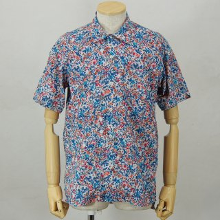 Engineered GarmentsCamp ShirtGarden Floral LawnLt.Grey