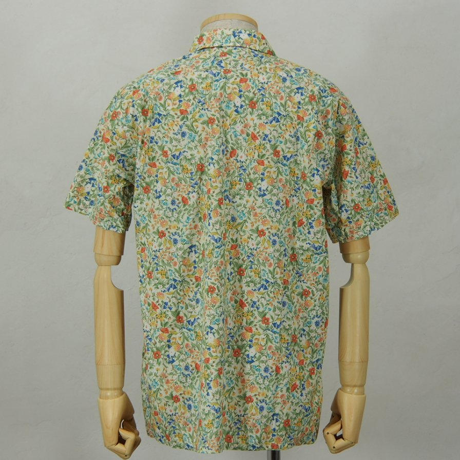 Engineered GarmentsCamp ShirtGarden Floral LawnLt.Yellow