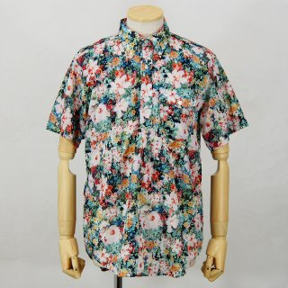 Engineered GarmentsPop Over BD ShirtFloral SheetingWhite Watercolor