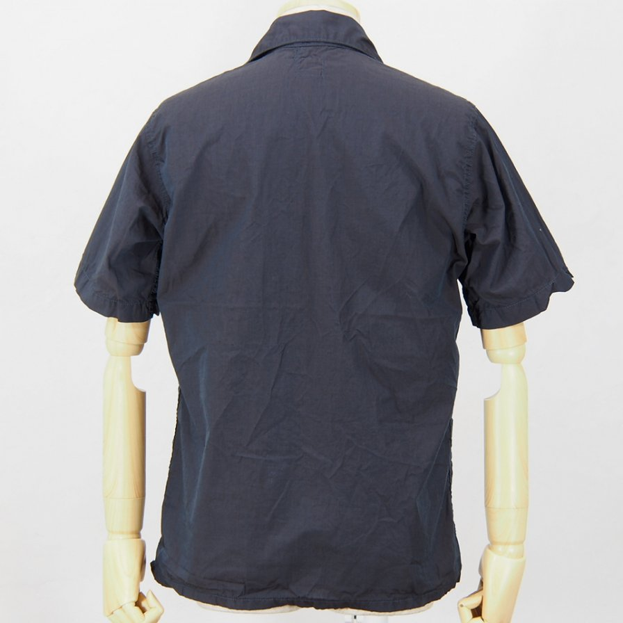POST OVERALLS USA - Town & Country S/S Shirt - E-O-E / Rust