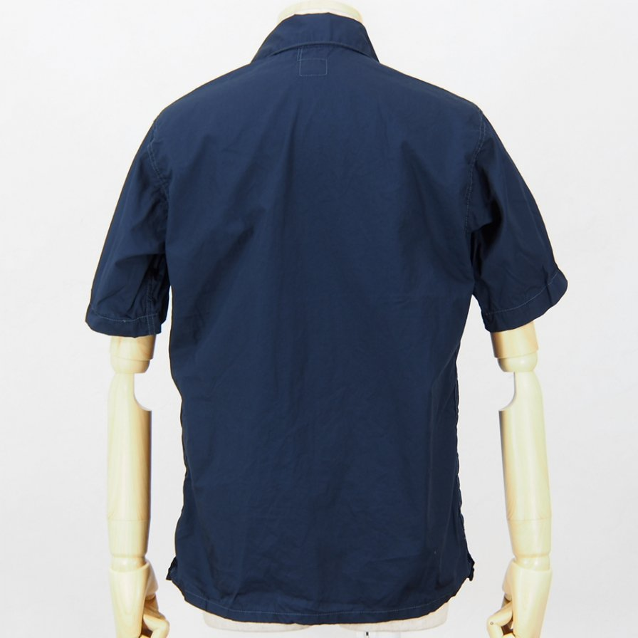 POST OVERALLSTown & Country S/S ShirtCotton BroadclothNavy