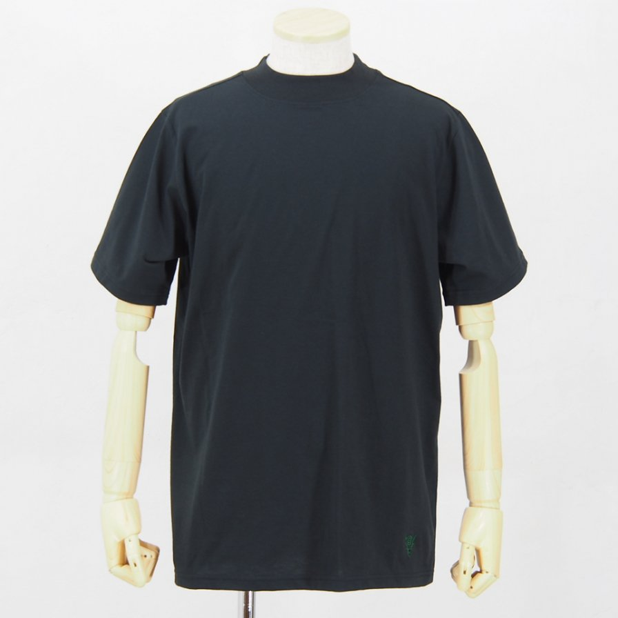South2 West8Mock Neck S/S TeeCordura JerseyBlack