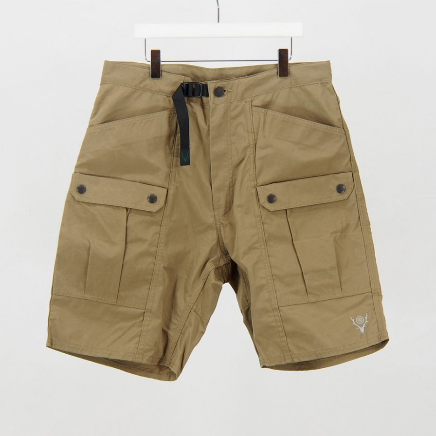 South2 West8Belted Harbor ShortWax CoatingTan