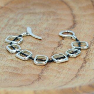 JILL PLATNERhopscotch braceletBlack