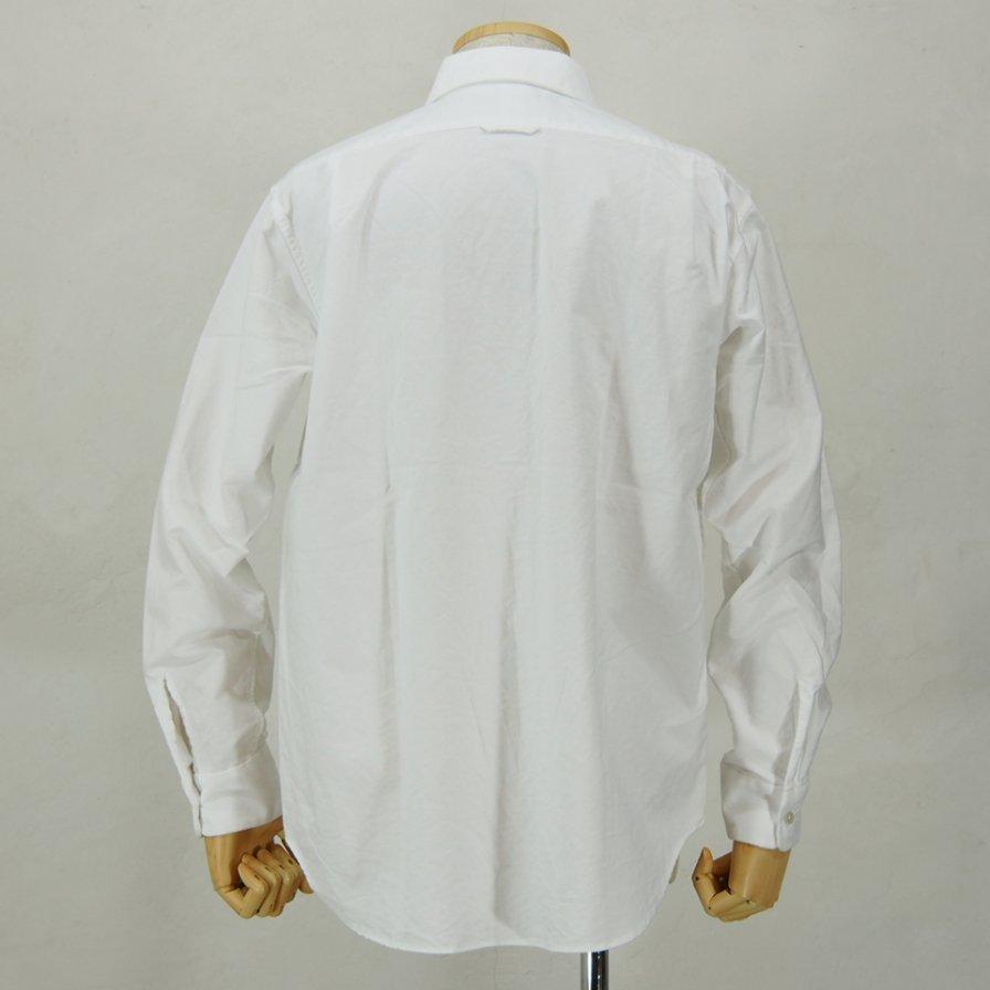 Engineered GarmentsShort Collar ShirtHeavy OxfordWhite
