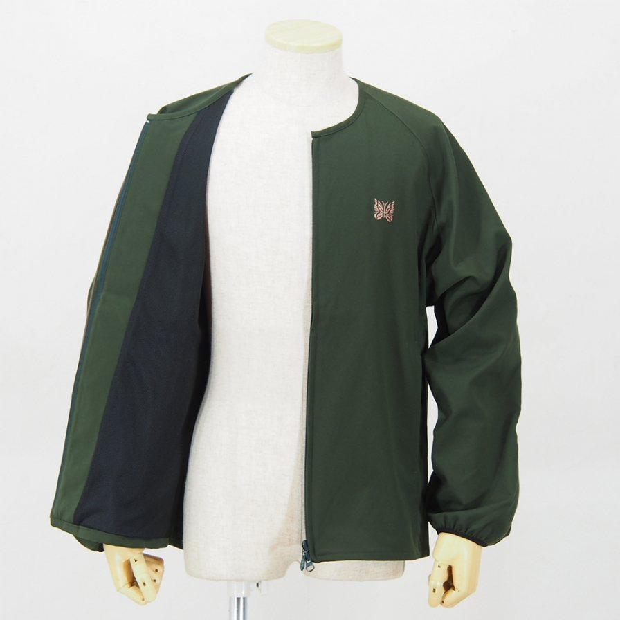 NeedlesRun-up JacketPoly SmoothGreen