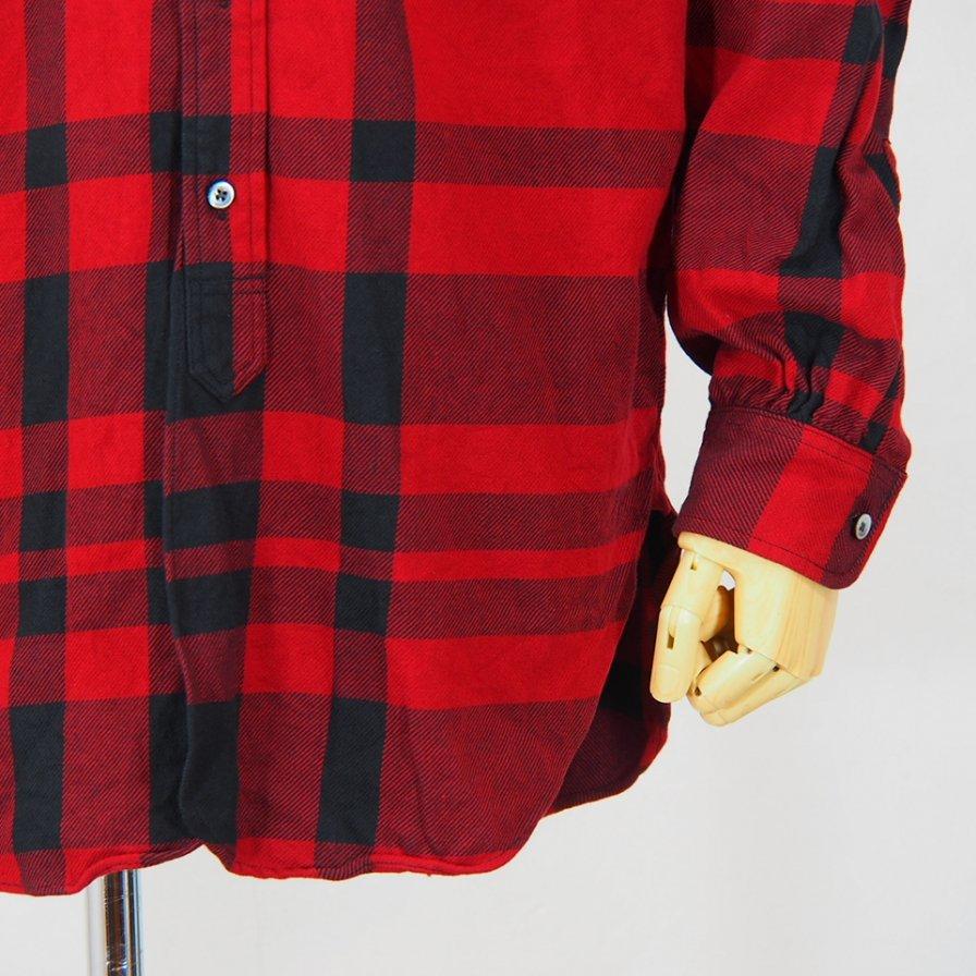 Engineered Garments19C BD ShirtBig PlaidRed/Black