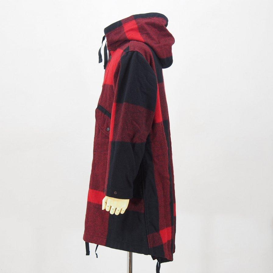 Engineered GarmentsHighland ParkaBig Plaid Wool MeltonBlack