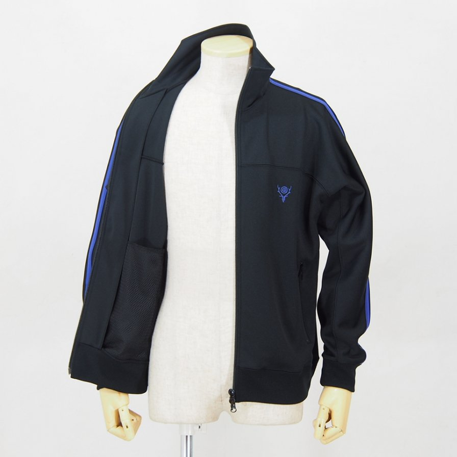 South2 West8Trainer JacketPoly SmoothBlack