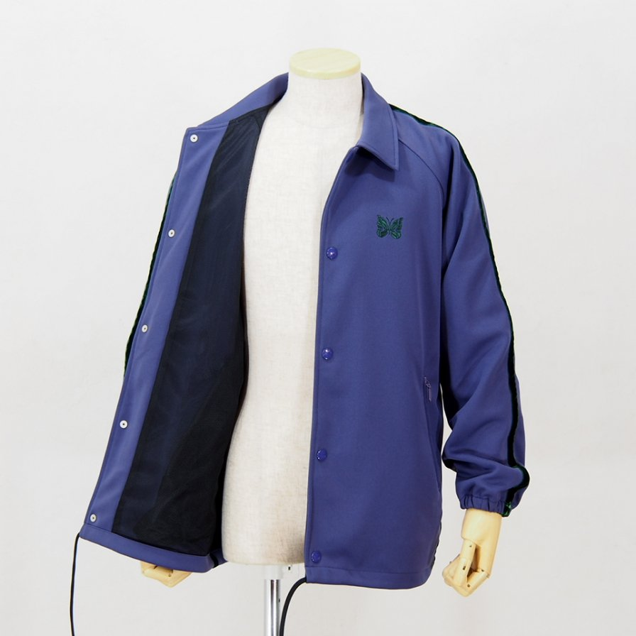 NeedlesSide Line Coach JacketPoly SmoothLavender