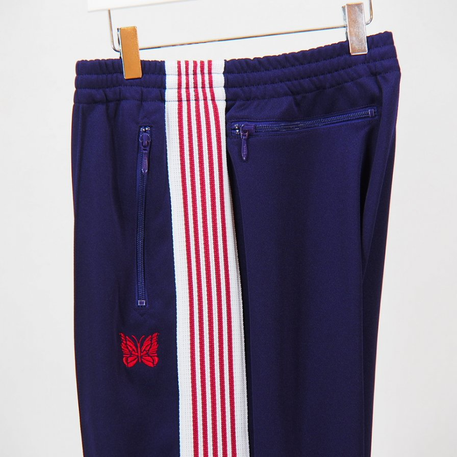 Needles - Track Pant - Poly Smooth - Eggplant