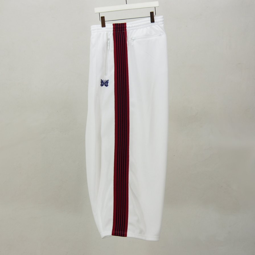 Needles WomenH.D. Track PantPoly SmoothWhite