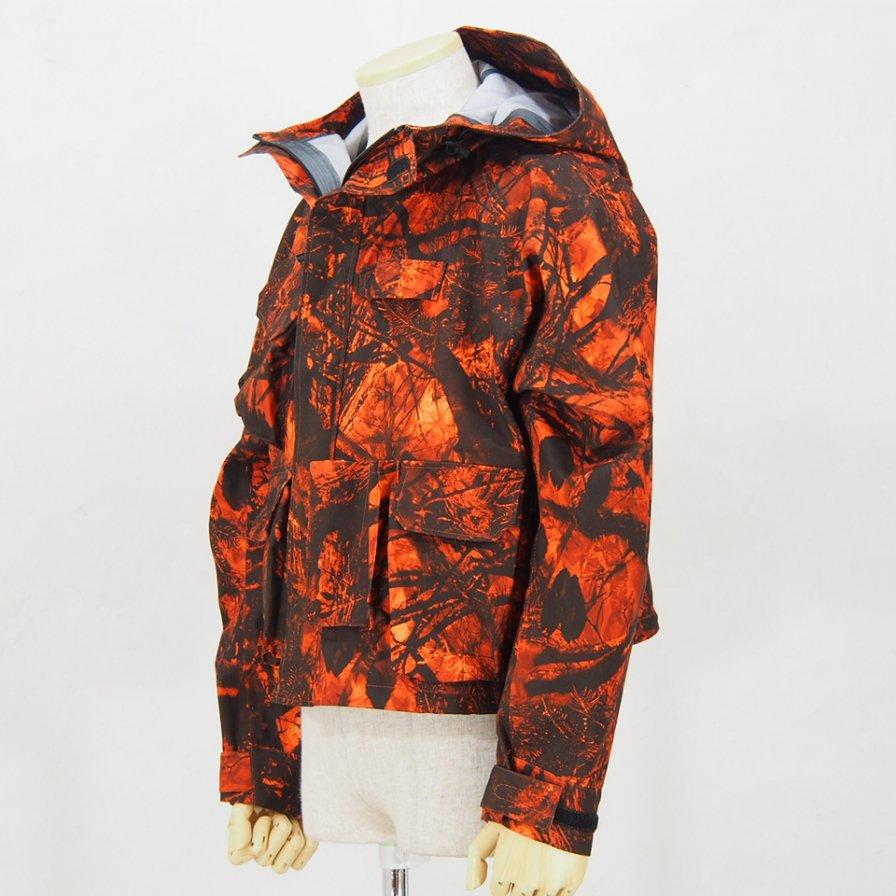 South2 West8River Trek Jacket - S2W8 Camo - Water Proof - Orange