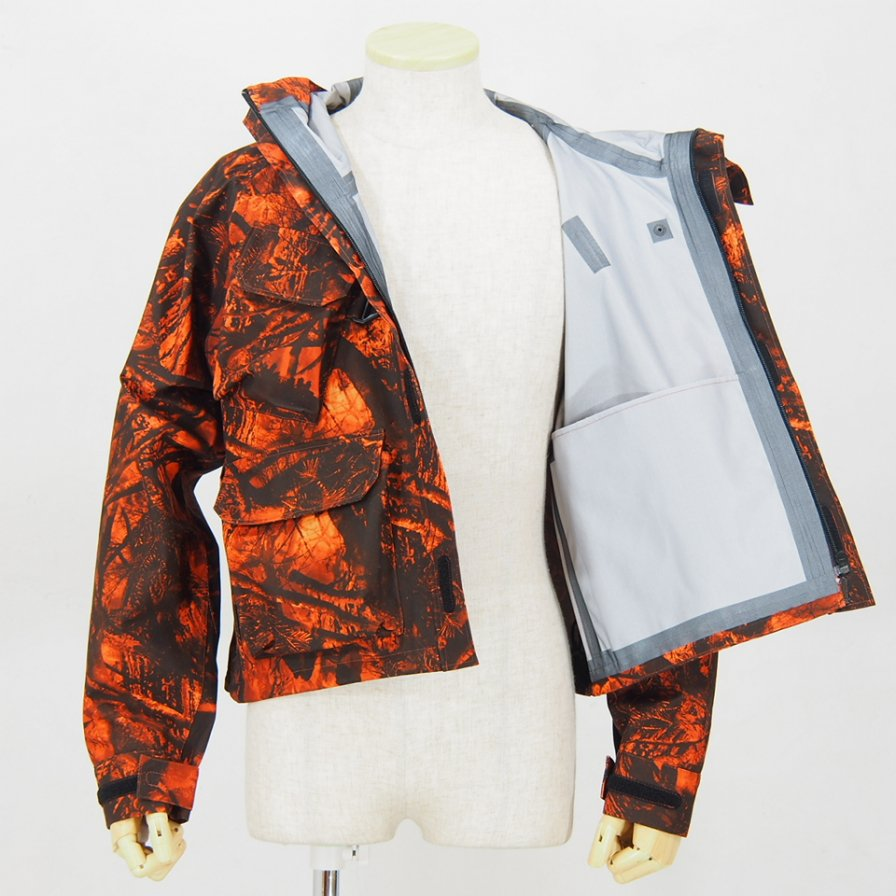 South2 West8River Trek Jacket - S2W8 Camo - Water Proof - Orange