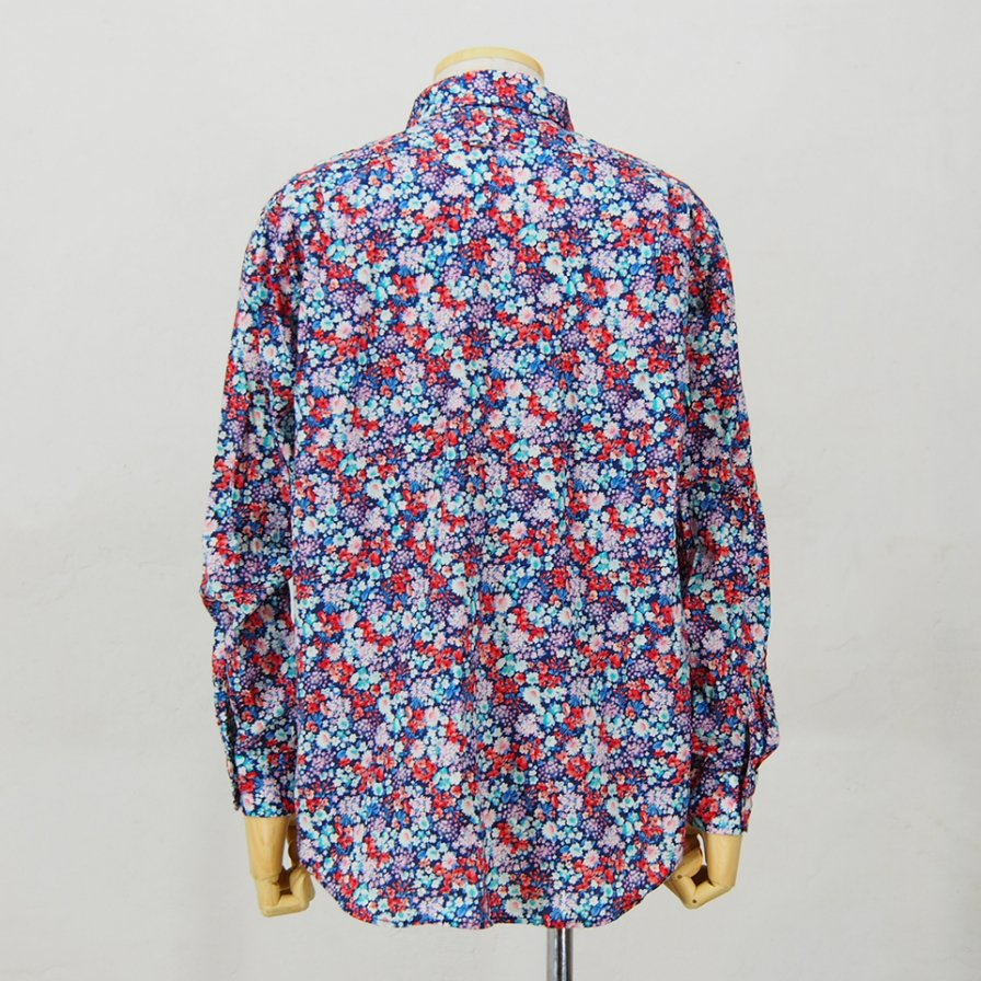 Engineered Garments - Short Collar Shirt - Floral Lawn