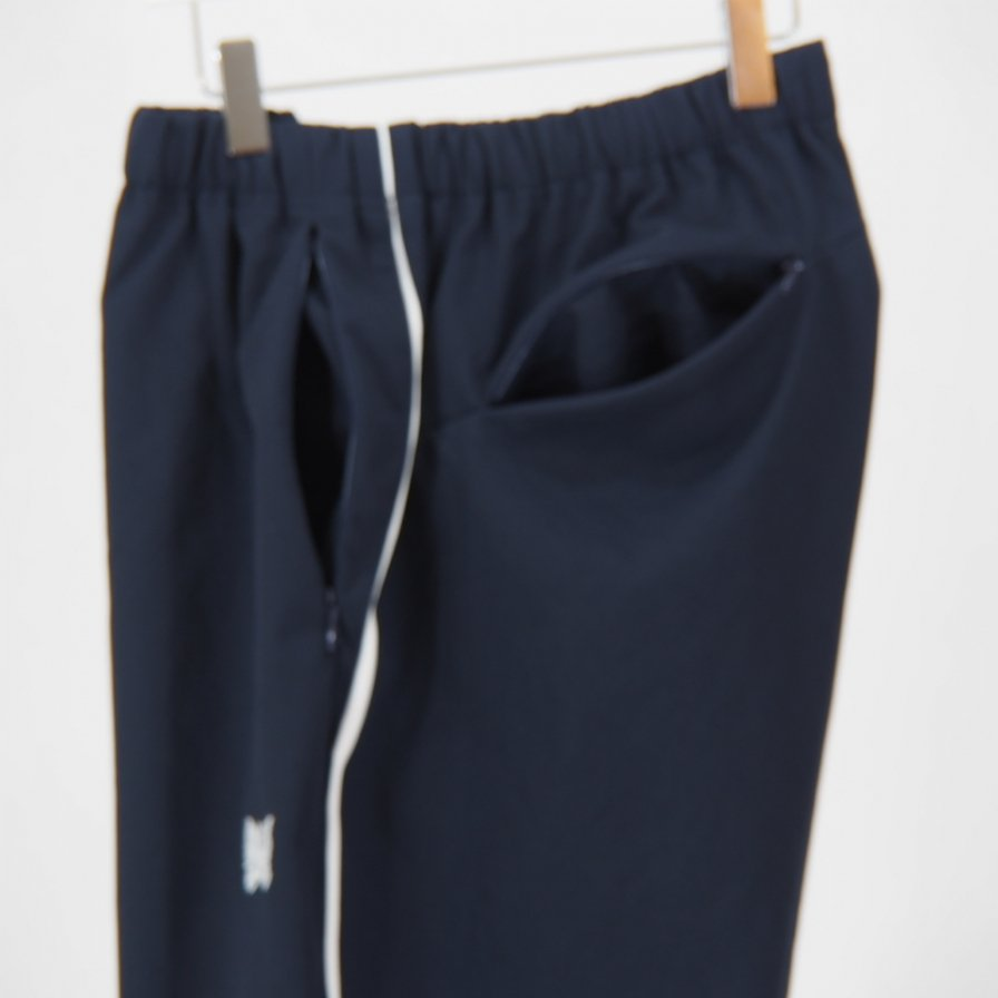 Needles - Side Line Seam Pocket Easy Pant - Poly Dry Twill - Navy
