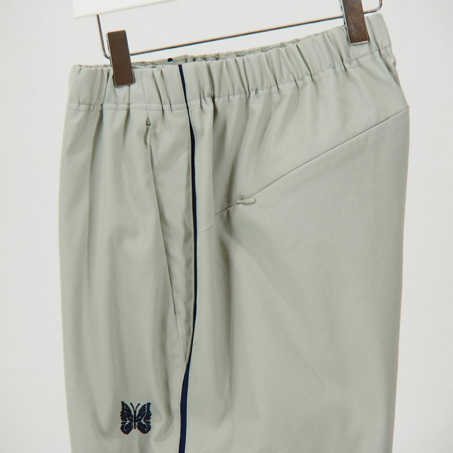 Needles - Side Line Seam Pocket Easy Pant - Poly Dry Twill - Grey