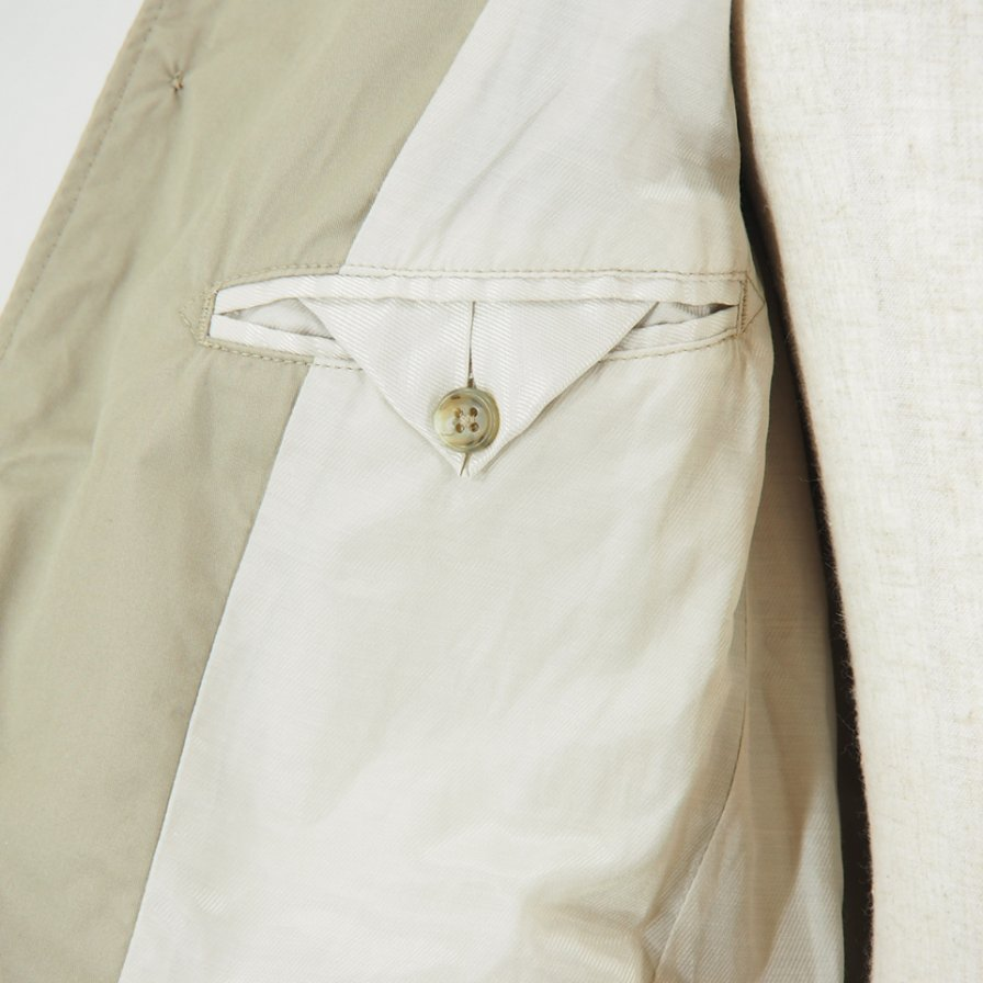 Engineered Garments - Andover Jacket -  High Count Twill - Khaki