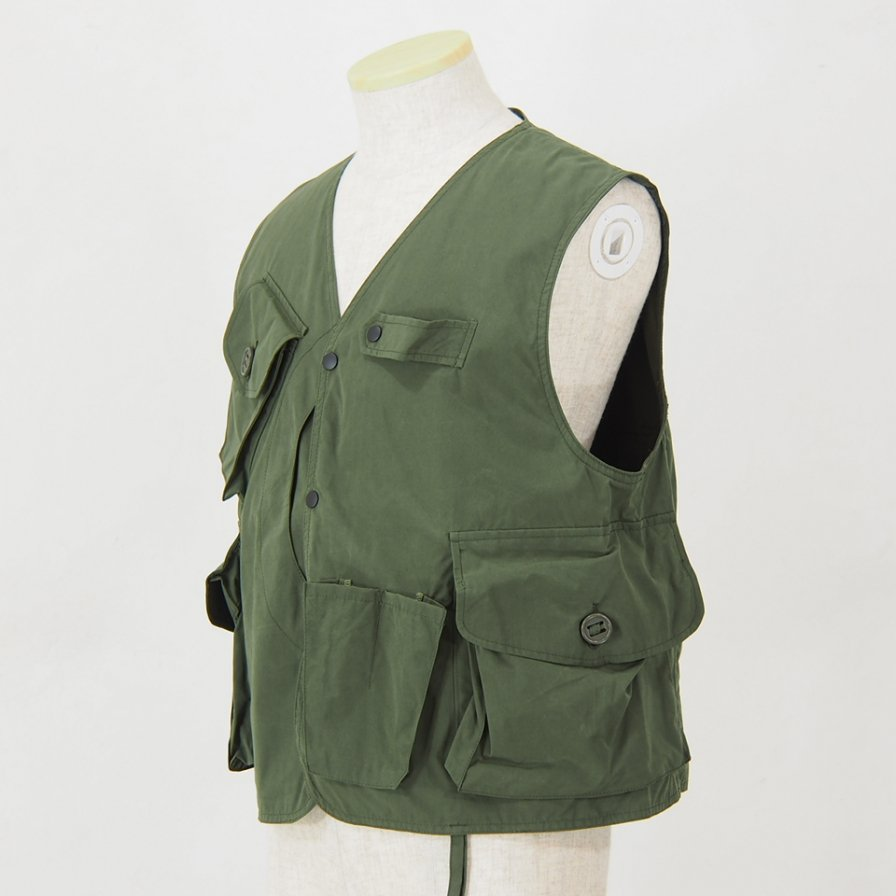 South2 West8 - Tenkara Vest - Wax Coating - Olive