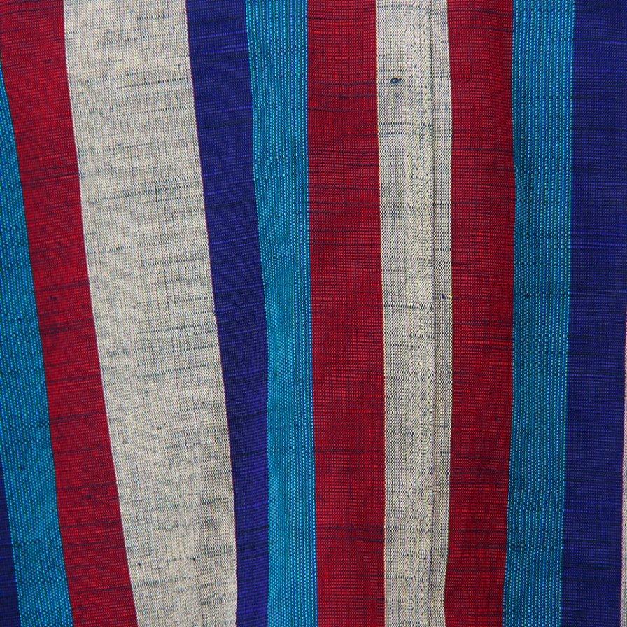 Needles - Chore Coat - Aizu Tsumugi - Wht/Ppl/Red/Ble