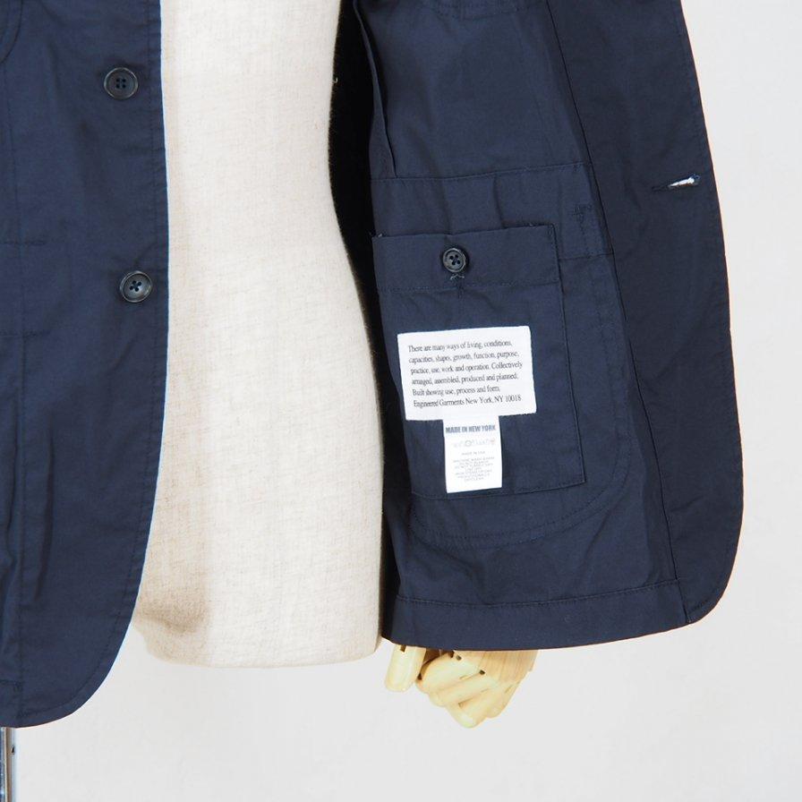 Engineered Garments - NB Jacket -  High Count Twill - Dk.Navy