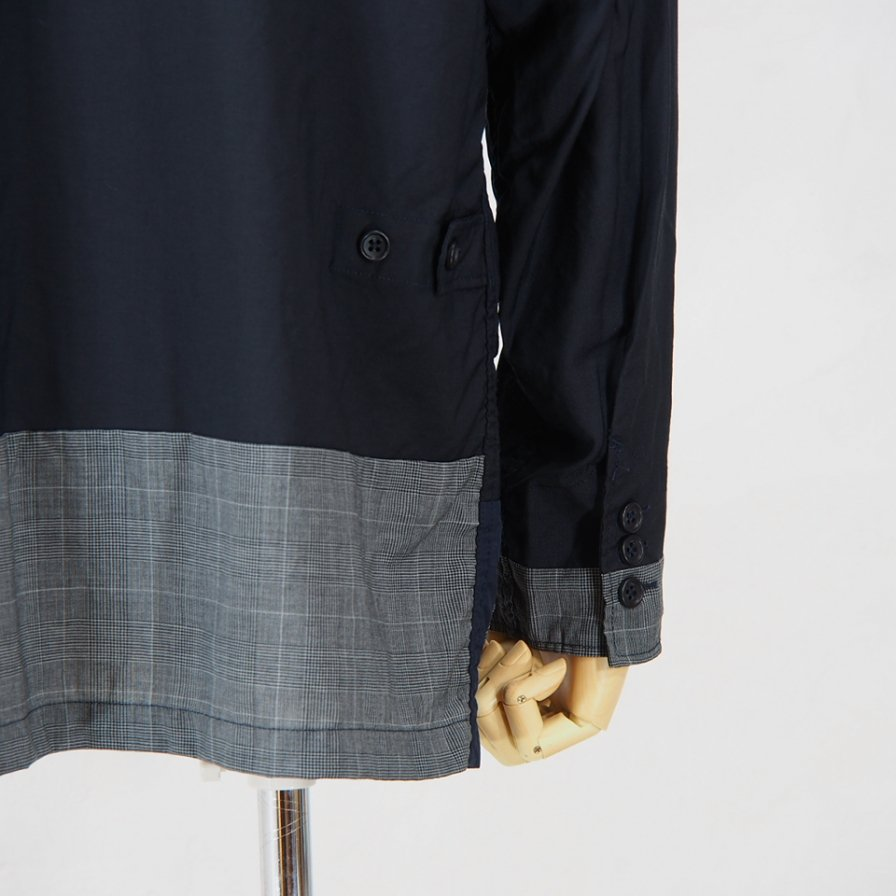 Engineered Garments - Loiter Jacket -  Tropical Wool - Dk.Navy