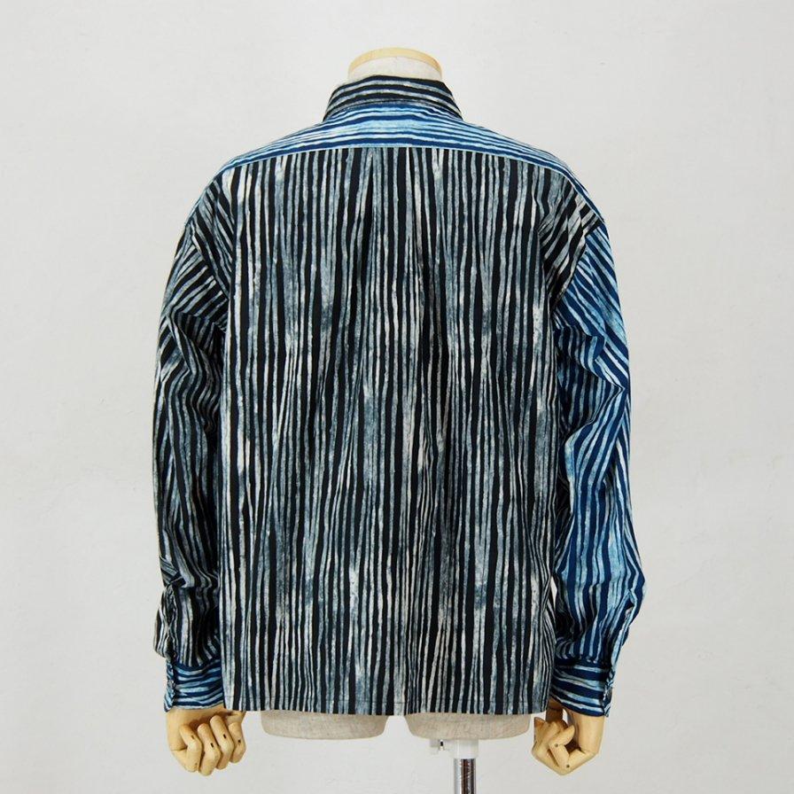 AiE - PJ Shirt - Cotton Batik St. - Black