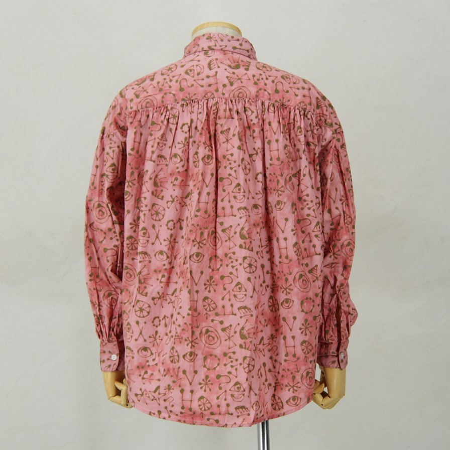 AiE - Painter Shirt - Art Symbol Motif - Pink