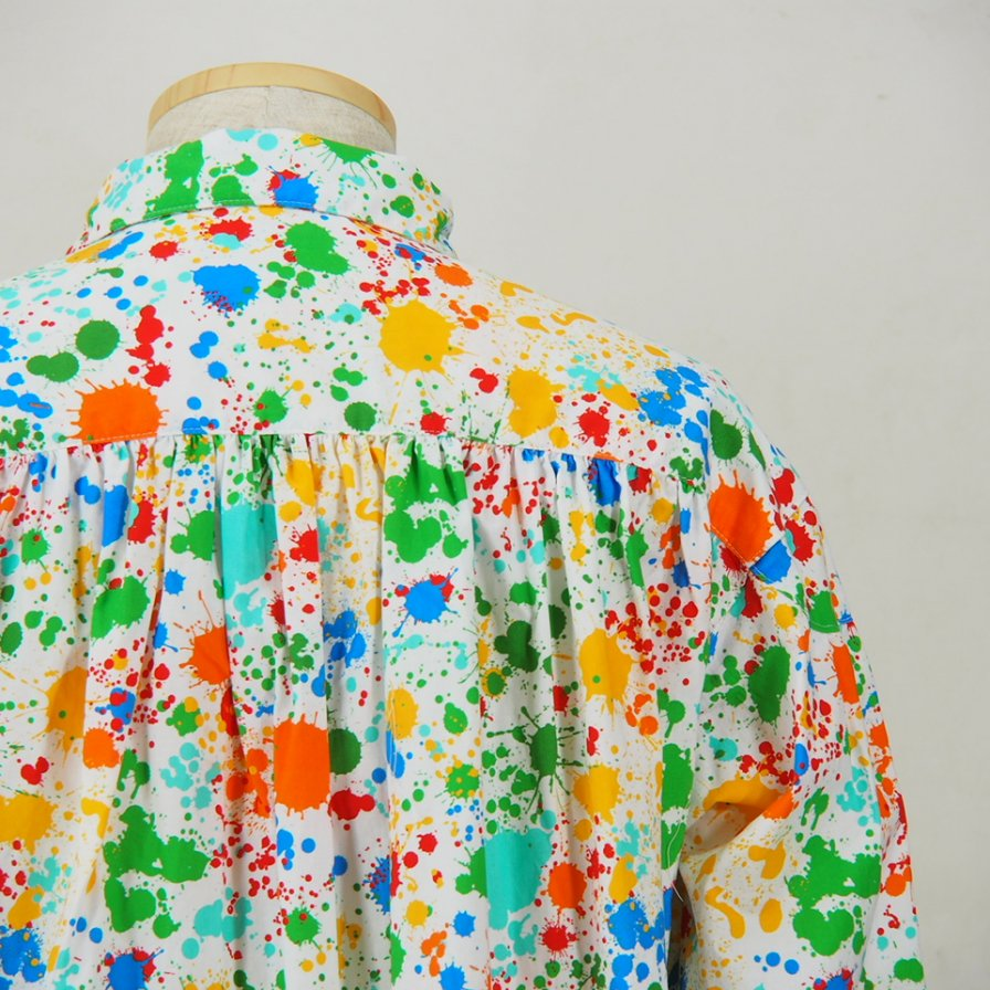 AiE - Painter Shirt - Paint Splatter Print - White