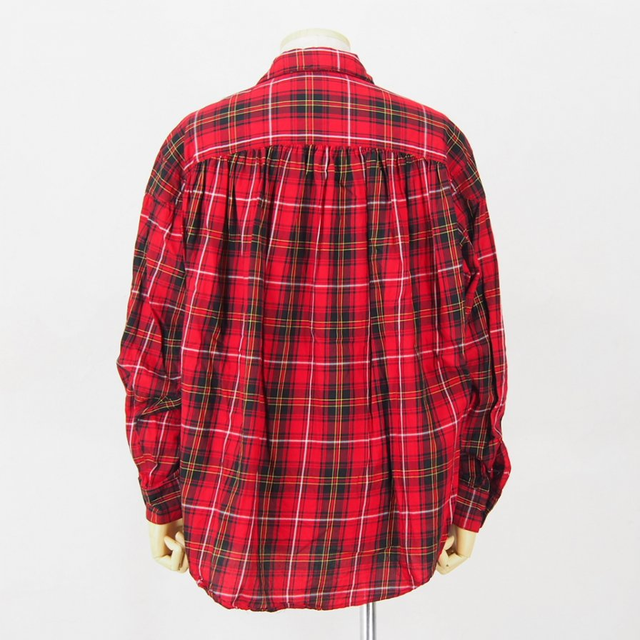 AiE - Painter Shirt - Cotton Tartan Check - Red