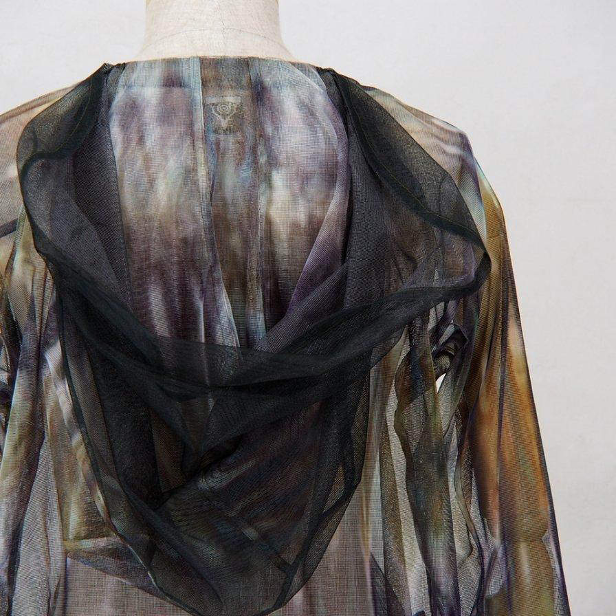 South2 West8 - Bush Parka - Mesh Print -  Tie Dye