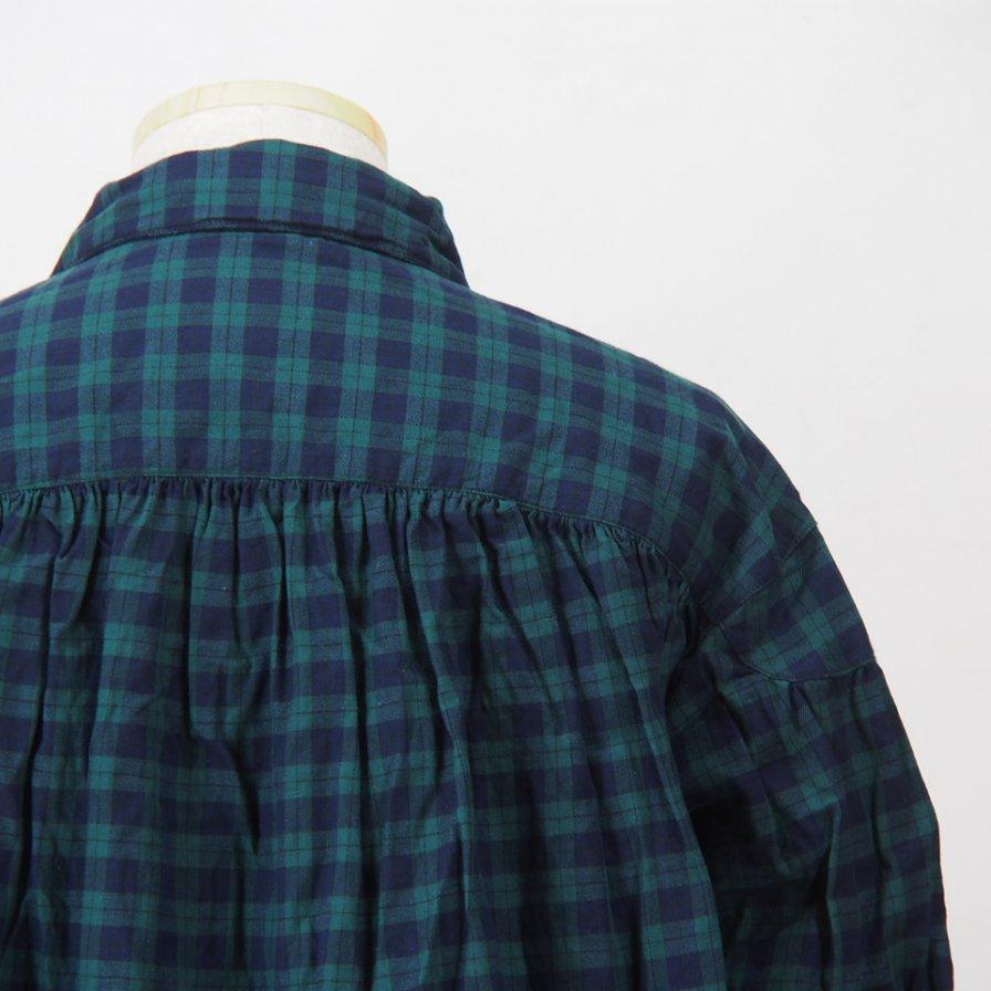 AiE - Painter Shirt - Cotton Tartan Check - Green