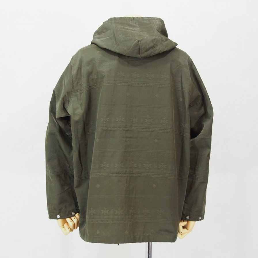 South2 West8 - Sport Hoody - C/N Jacquard - Native - Olive