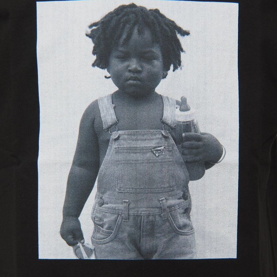 FilPhies - Toddler with bottle and sunglass, Harlem New York 10026 - Black