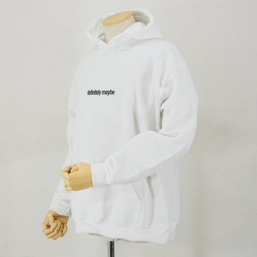 AiE エーアイイー - Printed Hoody - Flag - White