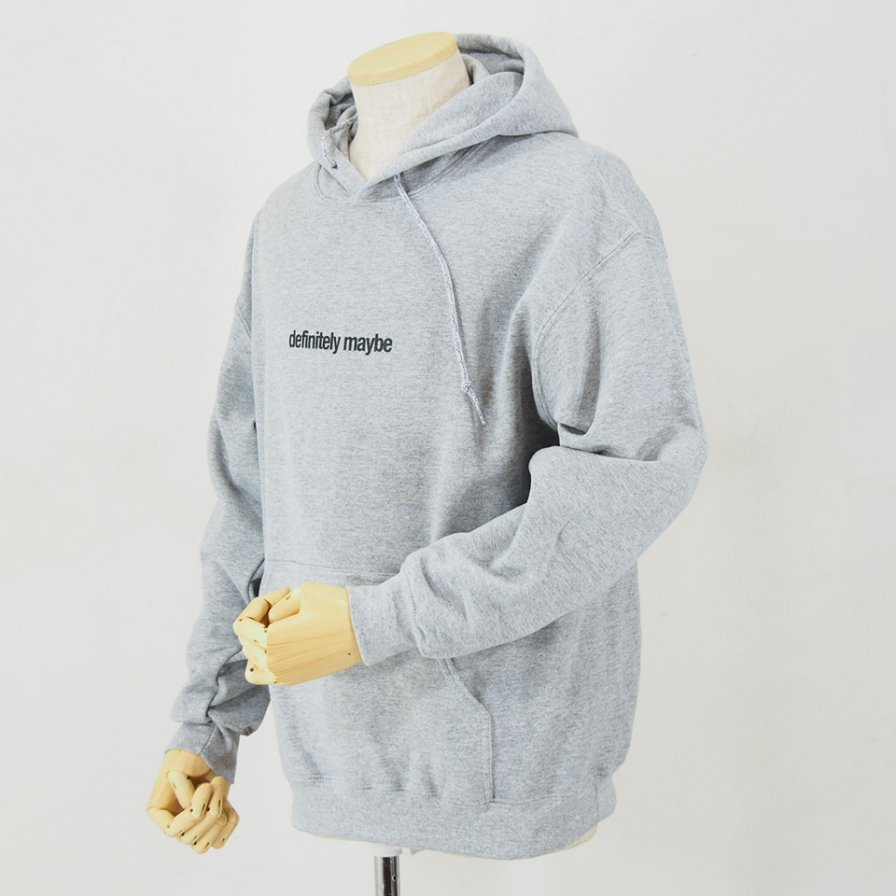 AiE - Printed Hoody - Flag - Grey
