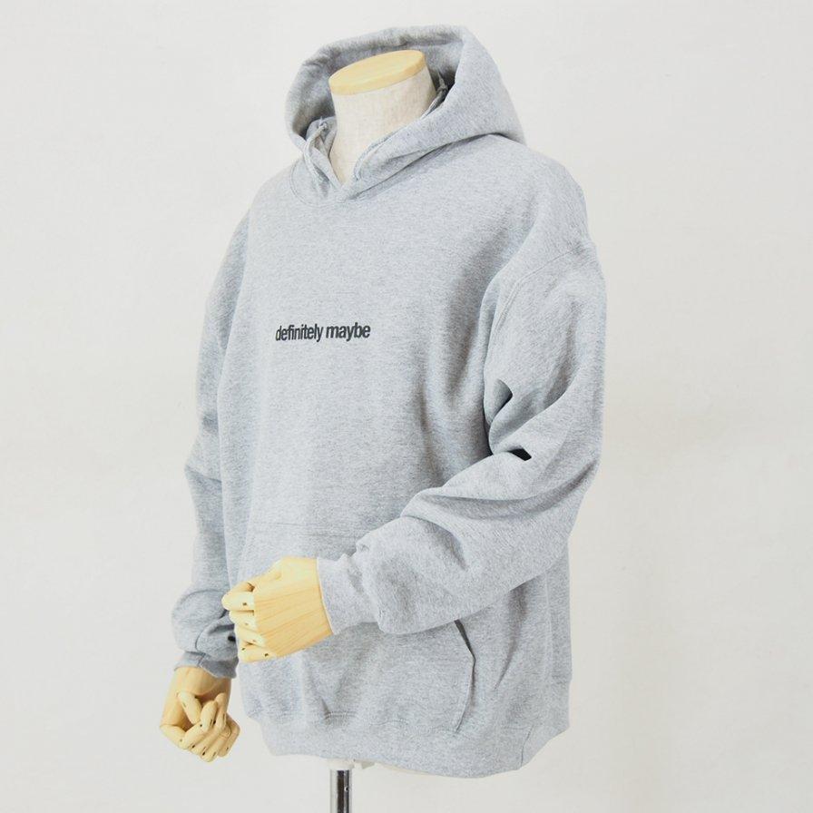 AiE - Printed Hoody - Face - Grey