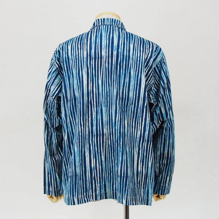 AiE - EZ Jacket - Cotton Batik St. - Blue