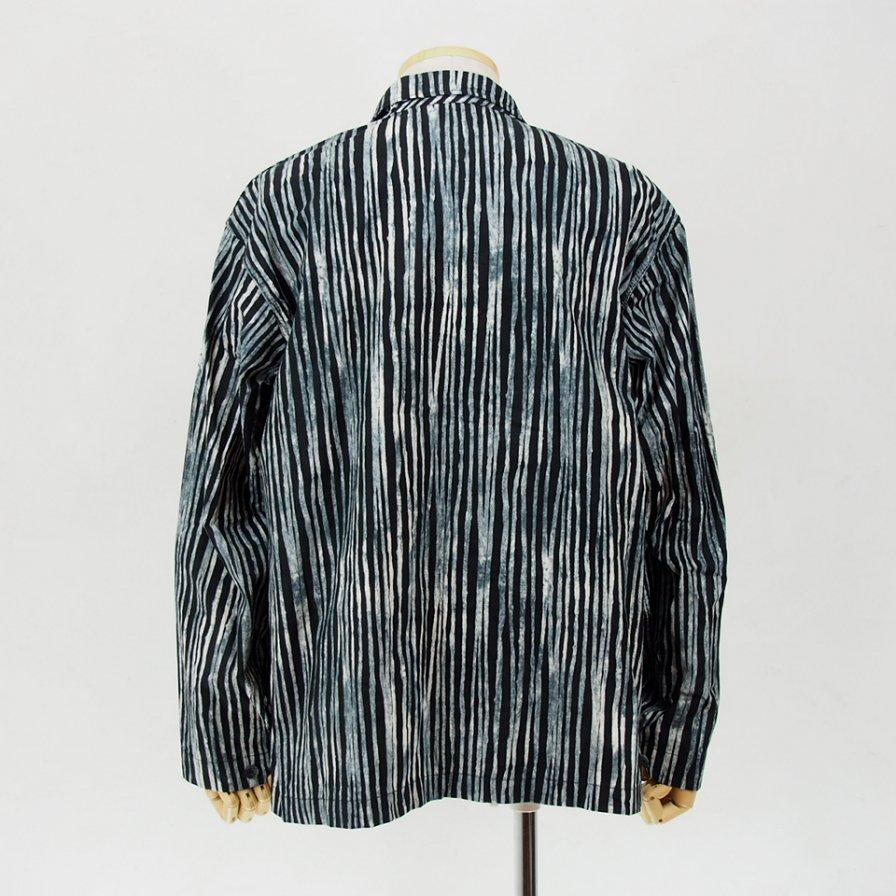 AiE - EZ Jacket - Cotton Batik St. - Black