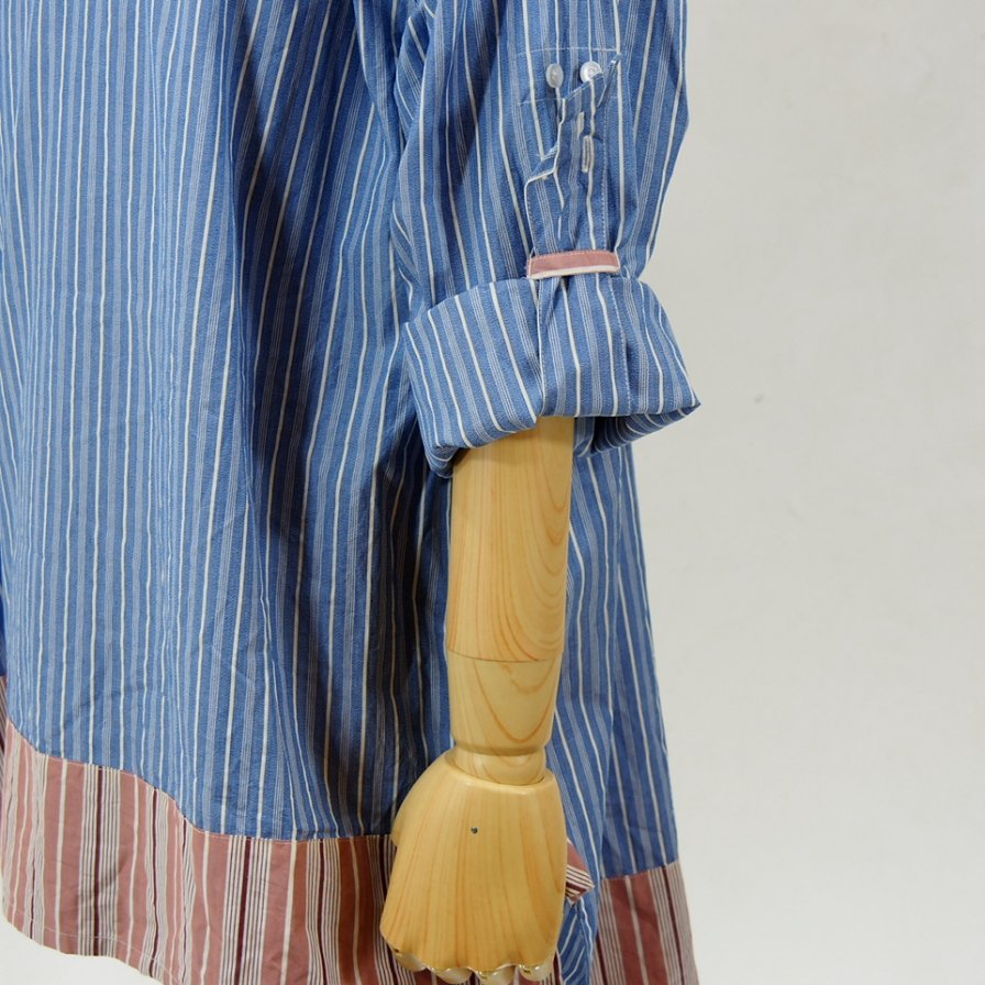 AiE - Long Tunic - Regent St. - Blue / White