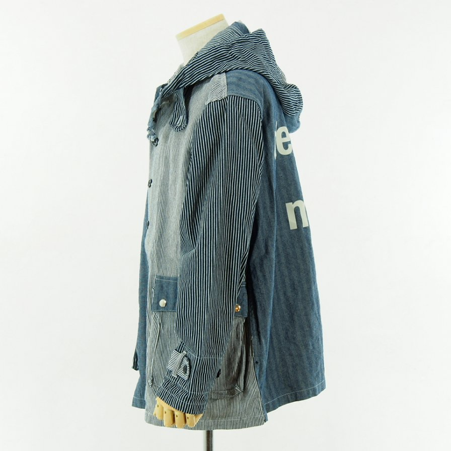 AiE - Krazy Parka - 8oz HB Denim - Navy