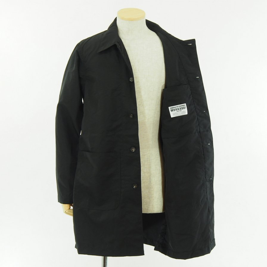 EG WORKADAY - Shop Coat - 2Ply Nylon Taslan - Black