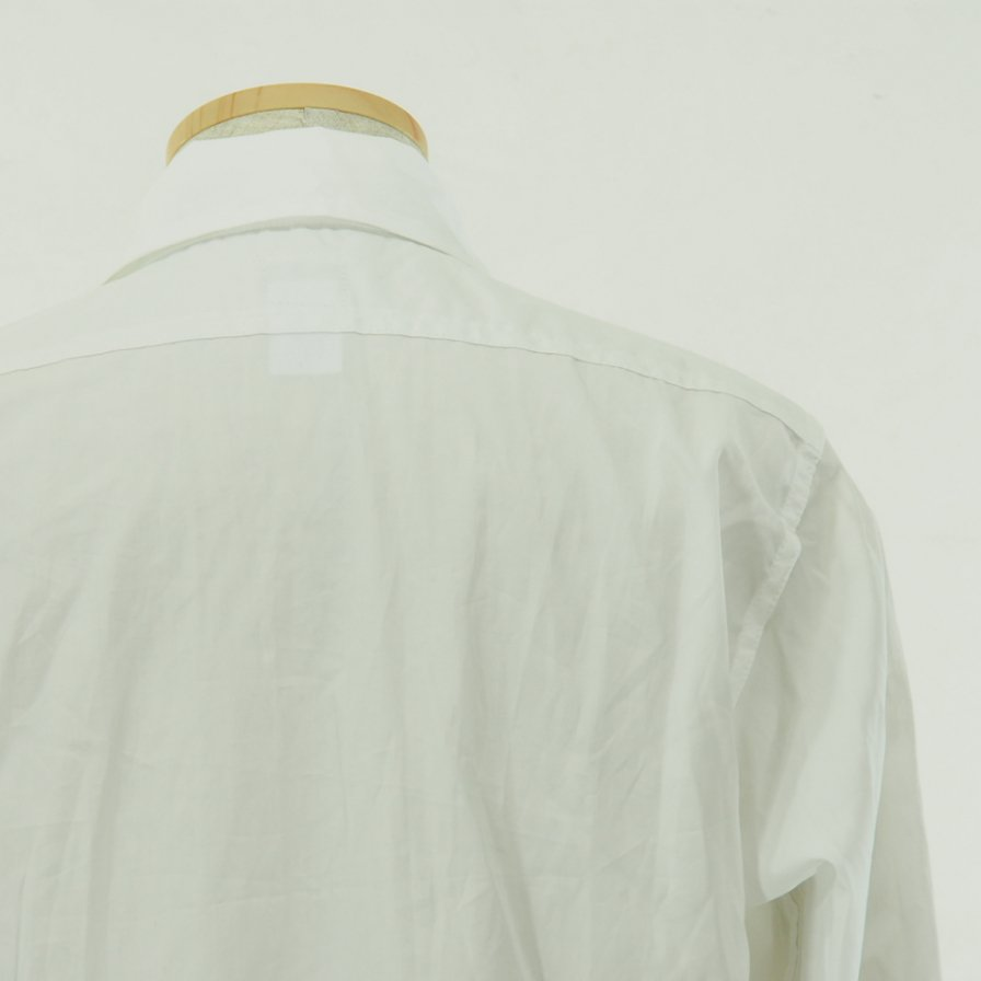 POST OVERALLS - The POST� R - L/S Shirt - Cotton Broadcloth - White