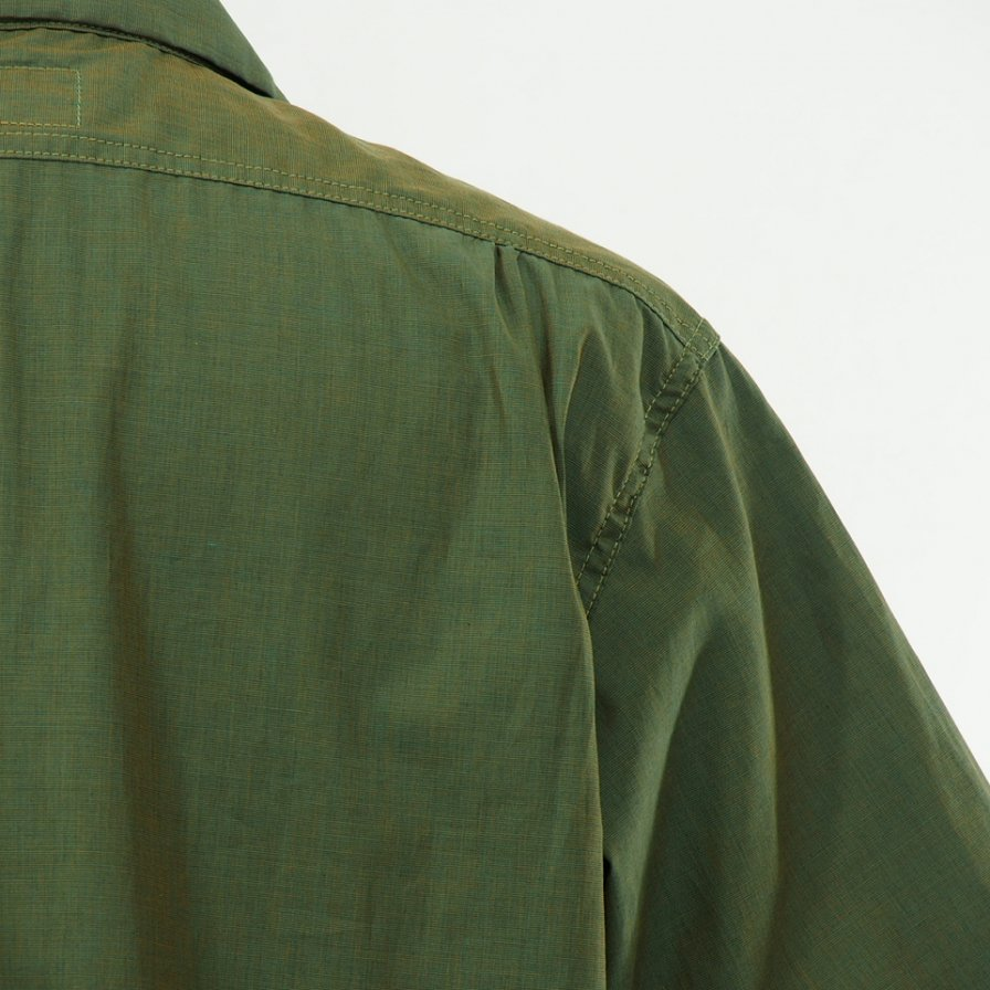 POST OVERALLS - E Z Cruz Shirt S/S - End On End - Olive
