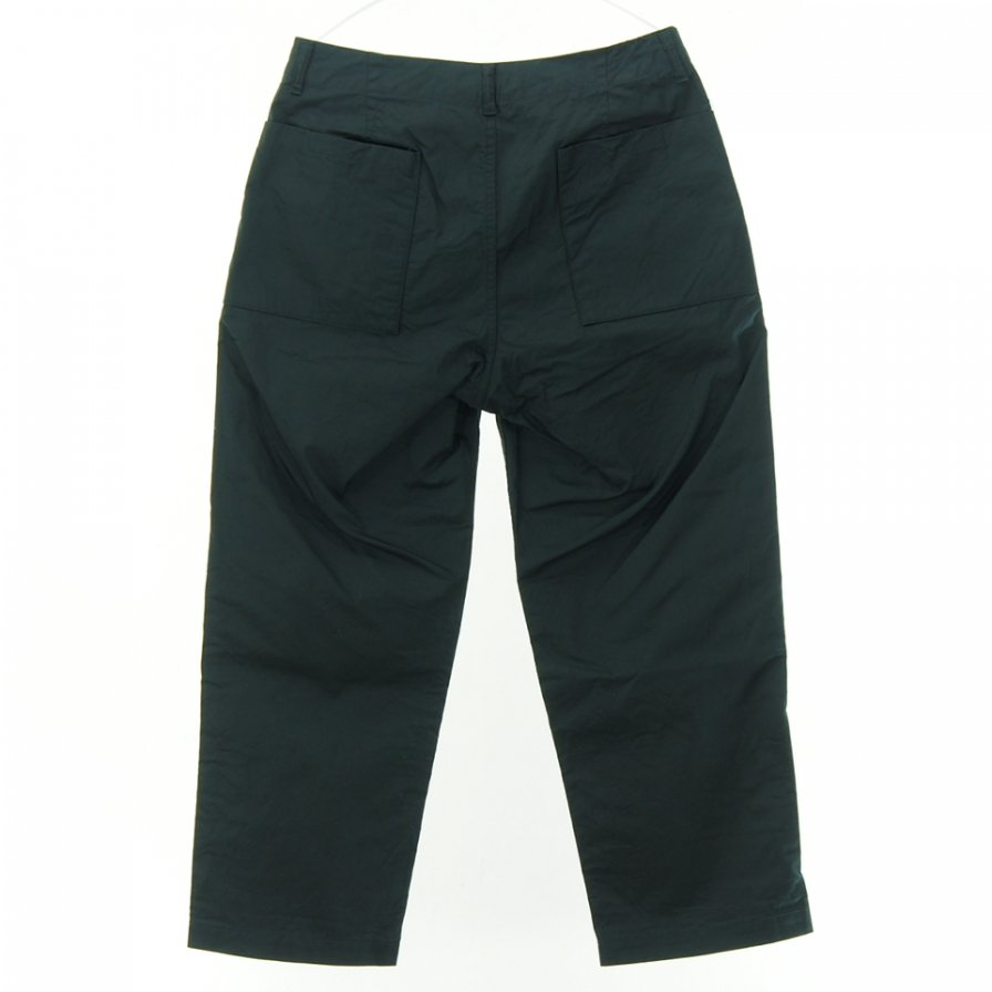STILL BY HAND - Wide Tapered Pant - Navy