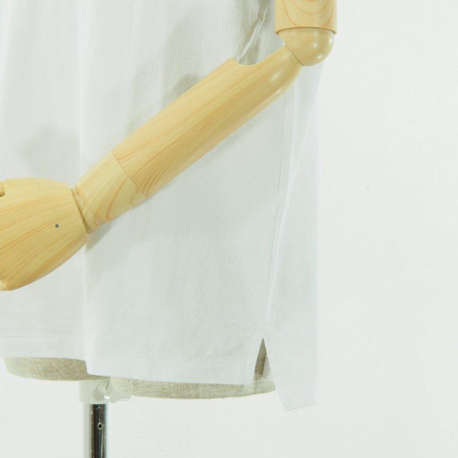 Engineered Garments - Printed Cross Crew Neck T shirt - LIC - White