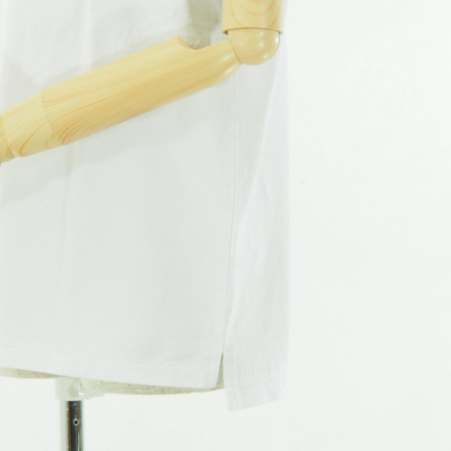 Engineered Garments - Printed Cross Crew Neck T shirt - Long Island City - White