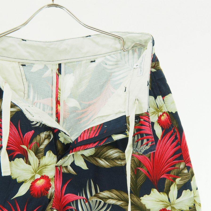 Engineered Garments - Sunset Short - Hawaiian Floral Java Cloth