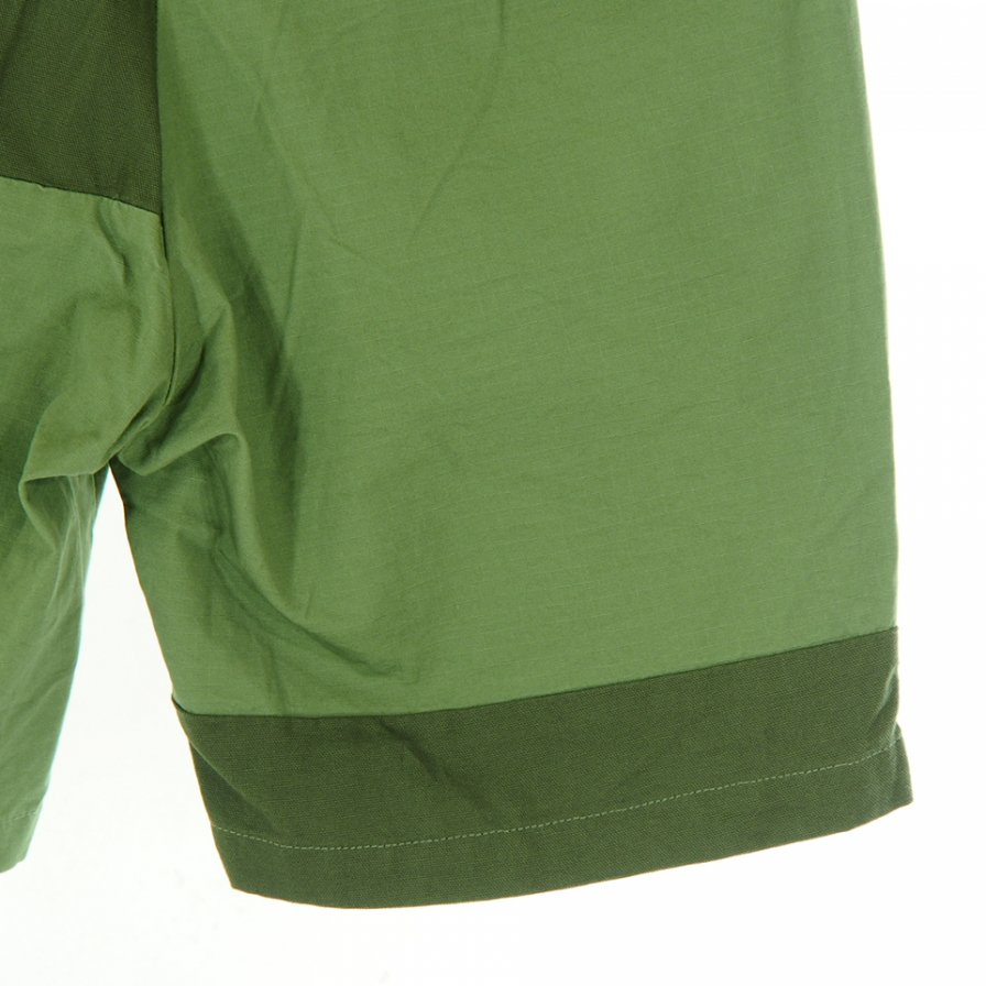Engineered Garments - Ghurka Short - Cotton Ripstop - Olive